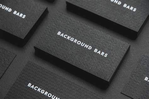 free black background business card template new logo for background bars by cbell hay bp o