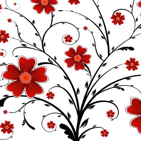 Wallpaper Bunga 545 free vector flowers cliparts co