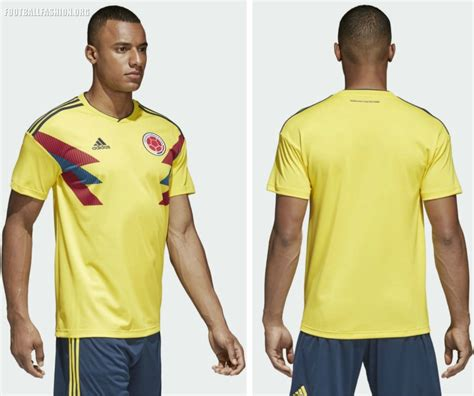 Jersey Kolombia 2018 World Cup 2018 colombia 2018 world cup adidas home kit football fashion org