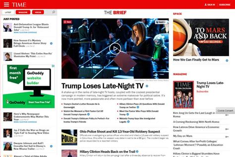 Magazine Layout On The Web | 10 beautiful modern magazine web layouts