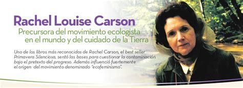 Rachel Louise Carson: Ecofeminismo :: Coomeva la