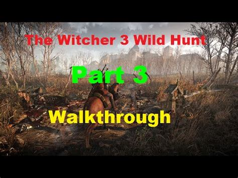 The Witcher 3 Hunt Walkthrough Part 3 Gameplay