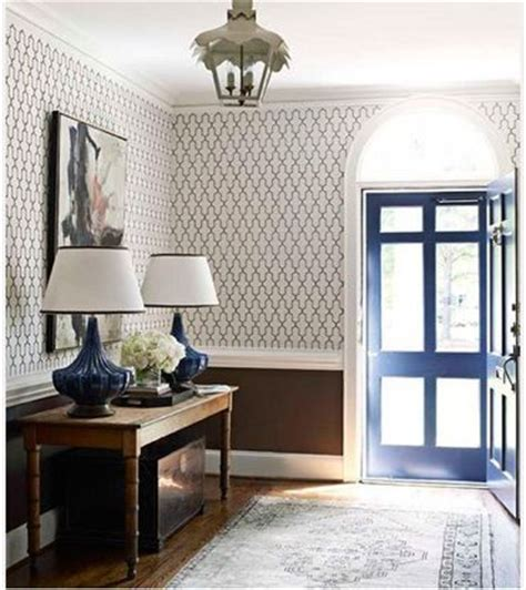 chair rail wallpaper wallpaper with color chair rail for the home