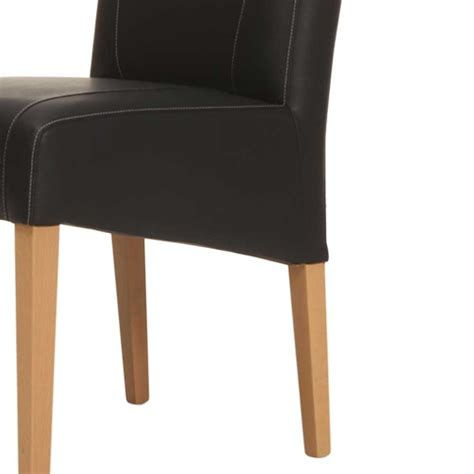 esszimmerstühle mit hoher lehne polster esszimmerstuhl ubinus in schwarz wohnen de