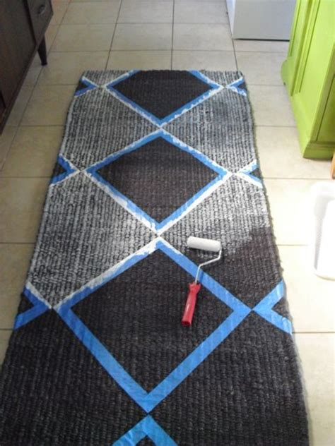 Diy Painted Rug by 25 Best Ideas About Paint A Rug On Painting