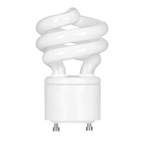 two prong fluorescent light bulbs shop feit electric 13 watt 60w spiral gu24 pin base soft