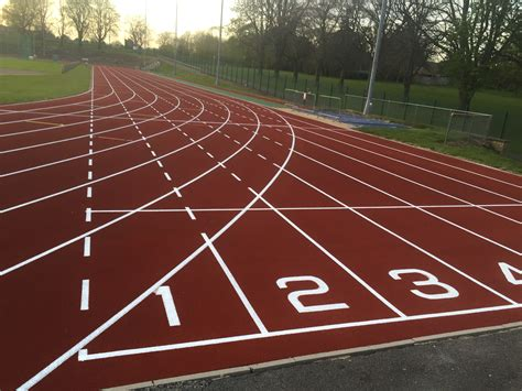 how to a tracking athletic tracks surfacing repairs certification