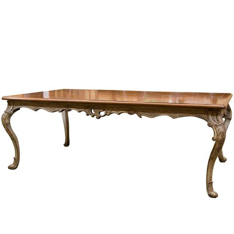 Reproduction Dining Table Wrightman Dining Table Reproduction At 1stdibs