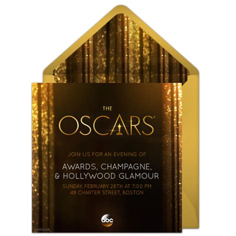 academy awards invitation template free oscars invitations for the 2016 academy awards