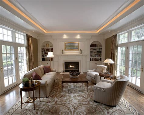 living room lighting inspiration lights in tray ceiling