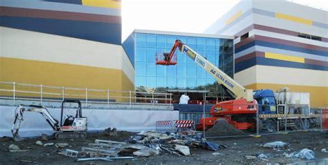 centro commerciale terrazze la spezia realizzazione ingressi centro commerciale lavori