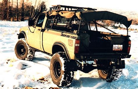 off road truck bed rack toyota truck of the month january 2000 john langes 1981 pickup toyota 4x4 off