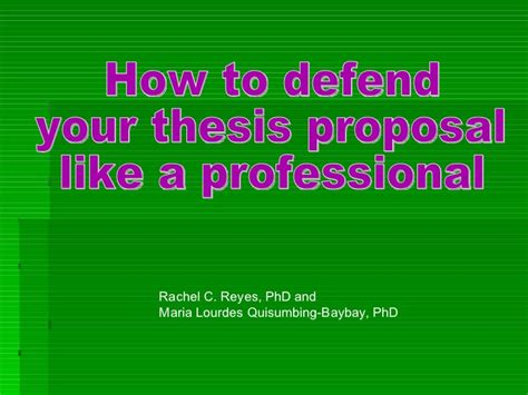 defending your dissertation dissertation presentation template cover letter