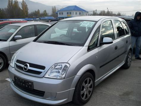 opel meriva 2004 2004 opel meriva 1 4 related infomation specifications