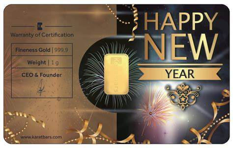 special happy new year special karatbar happy new year canadian gold gifts