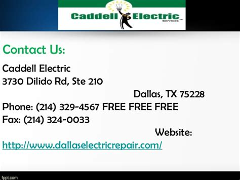 caddell electric electrician dallas tx electricians on time and superior quality electrical service caddell