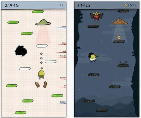 doodle jump oyna doodle jump android ve iphone i 231 in en iyi 10 mobil oyun