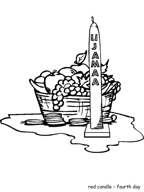 coloring pages for kwanzaa candle holder kwanzaa coloring pages