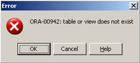 Table Or View Does Not Exist pl sql quotes for space in table name in oracle