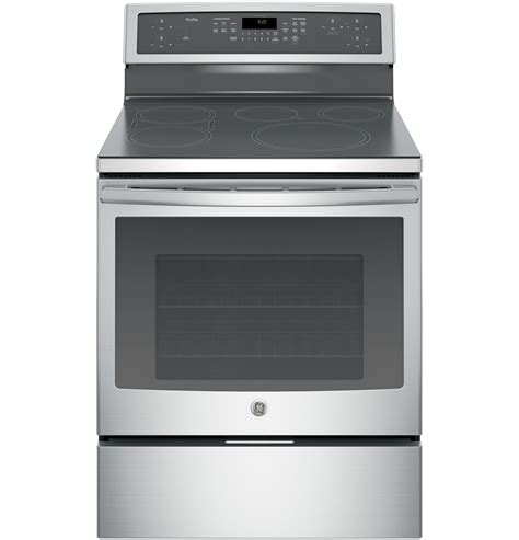 ge electric induction range ge profile phb920sjss 5 3 cu ft electric induction range stainless steel sears outlet