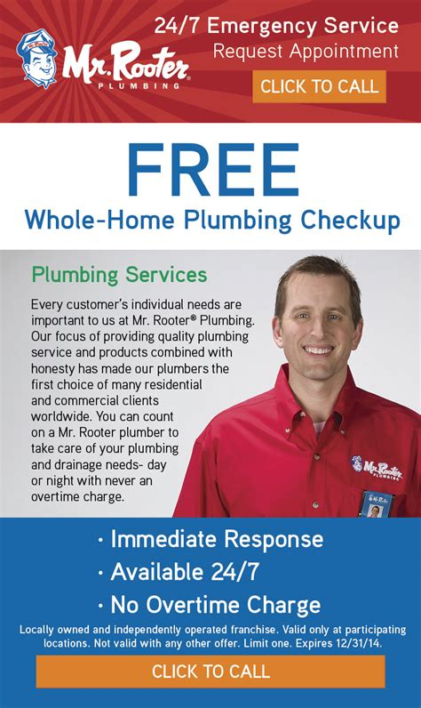 24 7 Rooter And Plumbing by Mr Rooter 24 7 Emergency Plumber