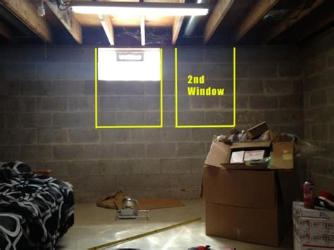 basement bedroom egress egress window help doityourself community forums