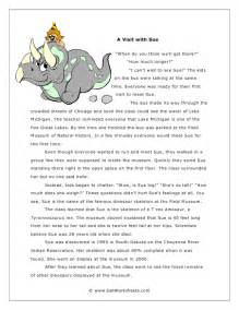 4th grade printable reading worksheets