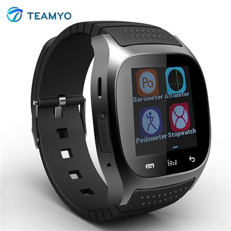 Smartwatch Android Samsung 2015 smartwatch m26 sport smart android with alarm player pedometer for samsung htc