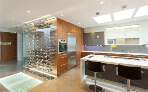 modern kitchen designs collection transparent and brilliant addition to the kitchen to