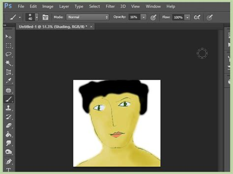 how to make doodle using adobe photoshop 7 ways to color and draw on adobe photoshop 6 wikihow