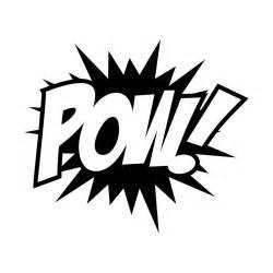 batman pow sticker
