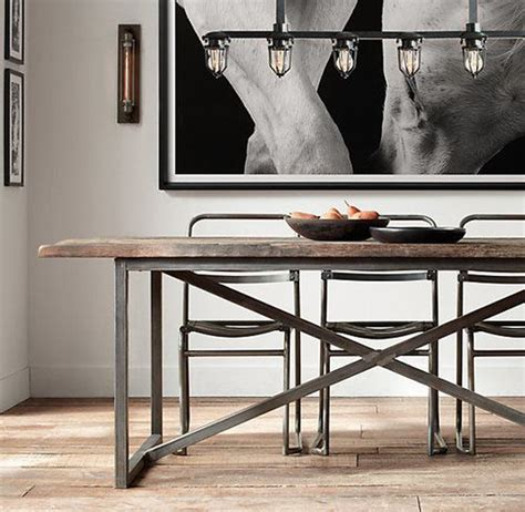 industrial dining room tables 25 industrial dining room with masculine interiors home