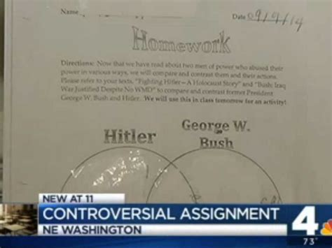 Columbia Mba Grading System by Dc School Asks Students To Compare George W Bush To