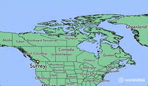where is surrey bc where is surrey bc located in the