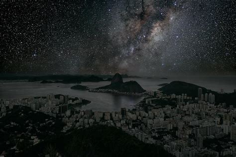 Sky Without Light Pollution by What Your Favorite City S Sky Would Look Like