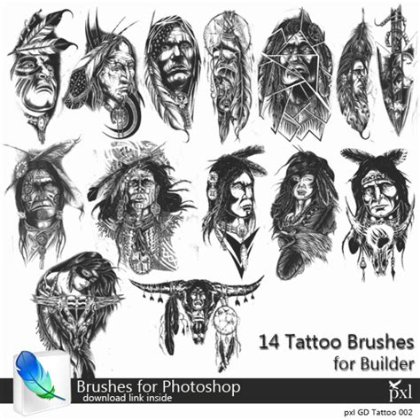 tattoo templates for photoshop second life marketplace pxl indian photoshop abr