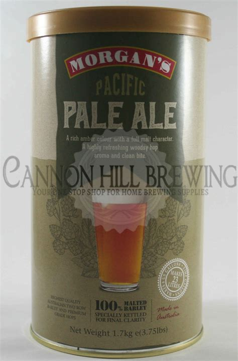 morgans brewing morgans pacific pale ale cannon hill brewing supplies