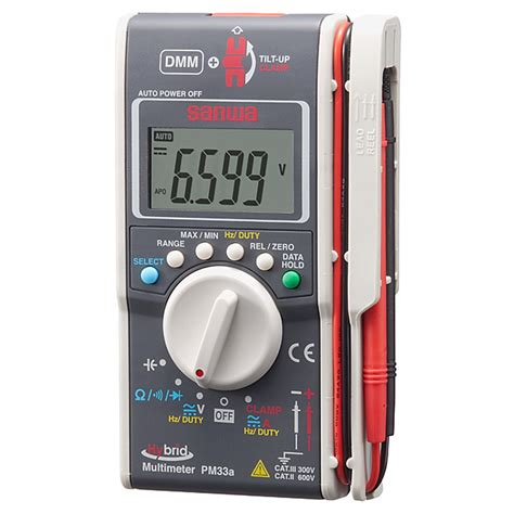 Multimeter Digital Sanwa Pc510 hybrid digital multimeter cl meter sanwa pm33a
