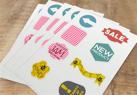 Sticker Label Printing