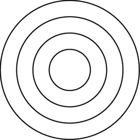 Series Sg022 Segment 022 Layered Concentric Circles Concentric Circles Template