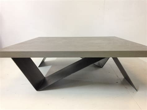 table basse beton cire table basse bois beton cire ezooq
