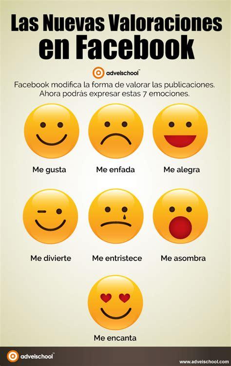 imagenes nuevas en facebook las nuevas valoraciones en facebook infografia