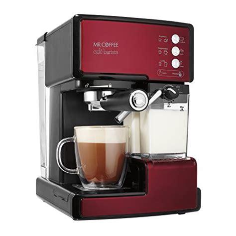 Coffee Maker Untuk Cafe mr coffee cafe barista espresso and cappuccino maker import it all
