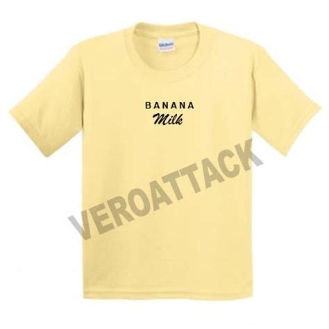 Tshirt Mothers Milk Smlxl banana milk yellow t shirt size s m l xl 2xl 3xl
