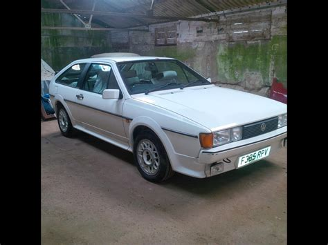 volkswagen scirocco 1989 1989 volkswagen scirocco scal for sale cars for