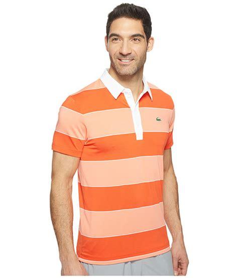 Polo Shirt Big Size Xxxl Xxxxl Oakley lacoste golf stretch ultra bold stripe polo at 6pm