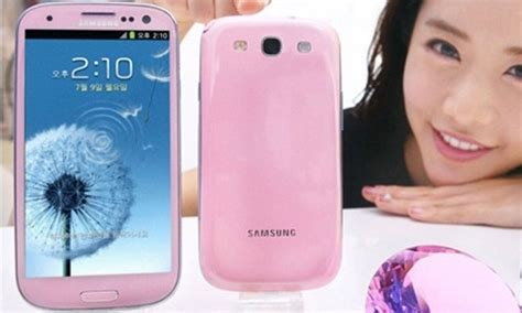 Samsung S3 Limited Edition samsung galaxy s3 pink color limited edition launched in korea gizbot gizbot