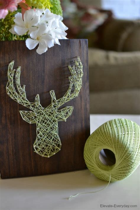 String Diy - diy deer string printable crush
