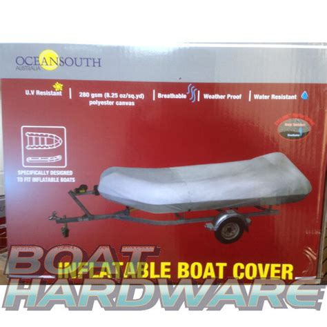 canvas inflatable boat inflatable boat cover suit 2 6 to 2 9m dinghy tender water