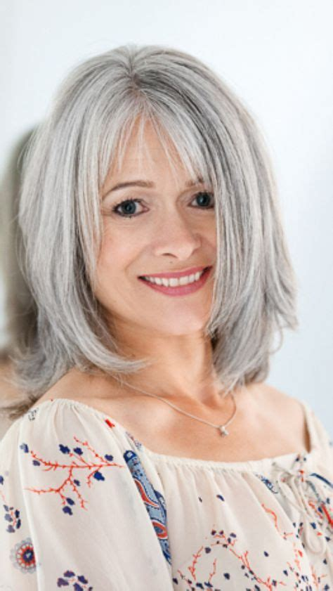looking with grey hair hairstyles for gray hair without looking old short